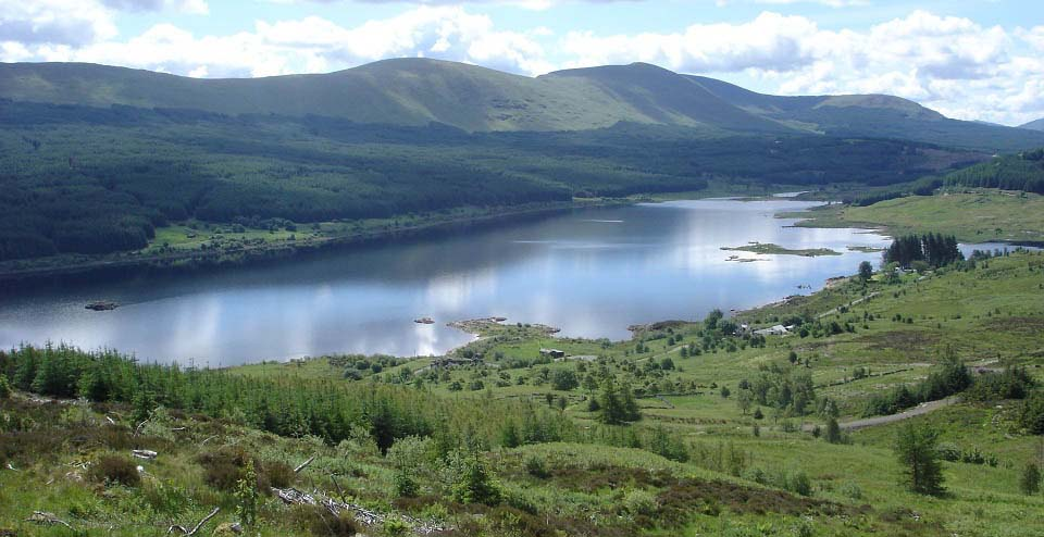 Loch Doon from Wee Hill of Craigmulloch image