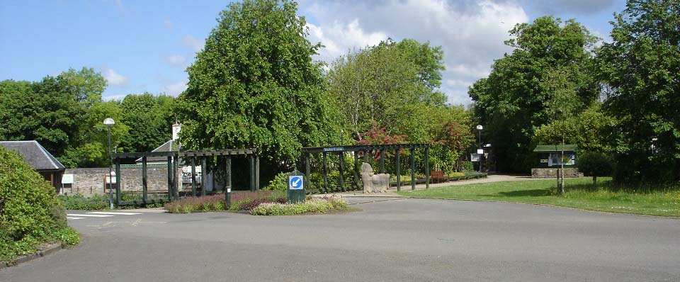 Eglinton Country Park Entrance image