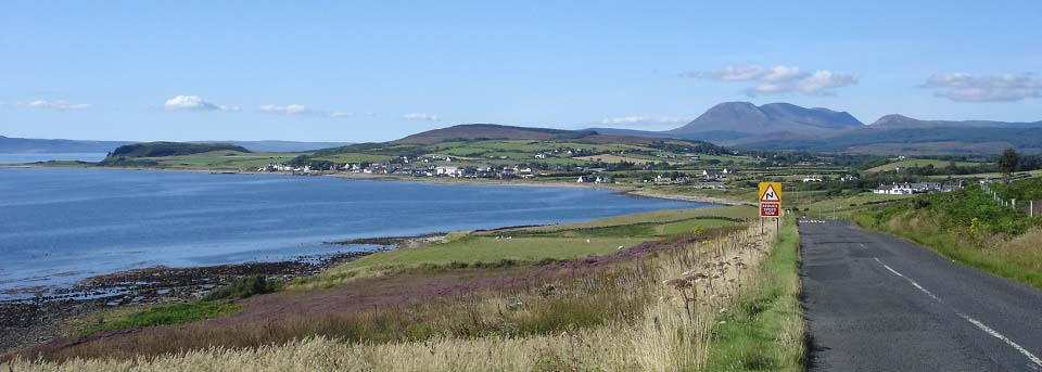 Blackwaterfoot from south image