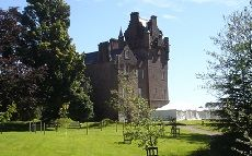 Brodick Castle front