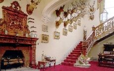 Castle staircase