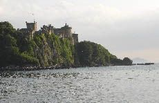 Castle from the north