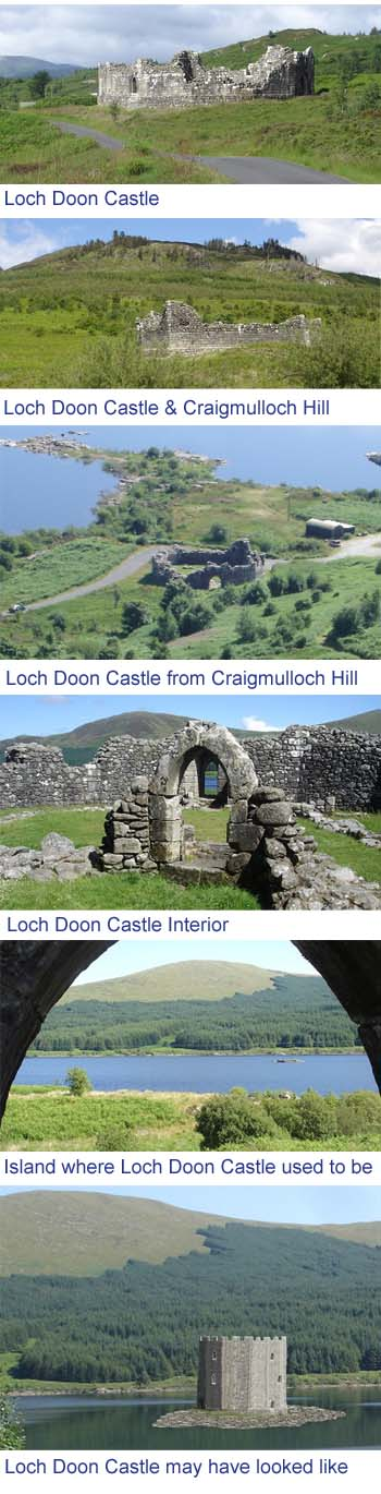 Loch Doon Castle Images
