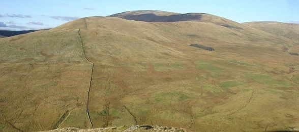Cairnsmore of Carsphairn southwest ridge image