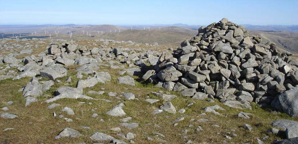 Cairnsmore of Carsphairn cairn image