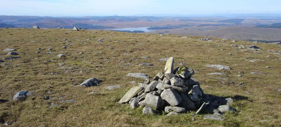 Cairnsmore of Carsphairn west side cairn image