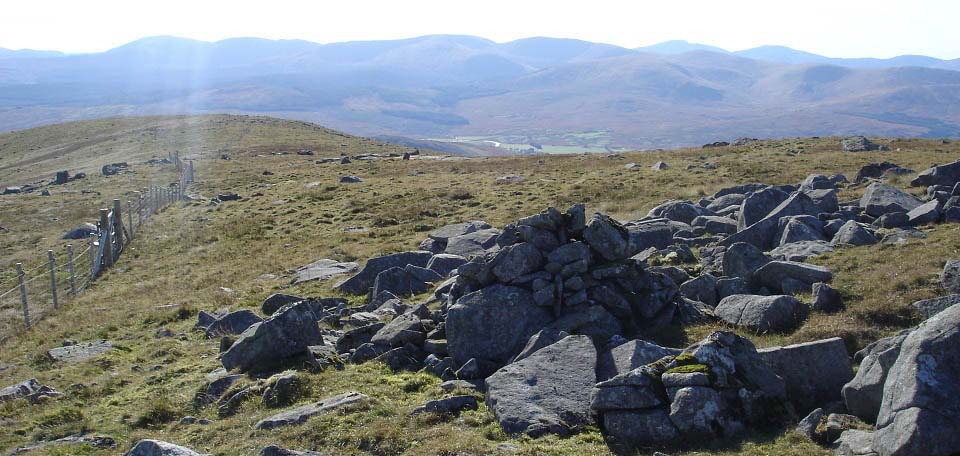 Cairnsmore of Carsphairn southwest route down image