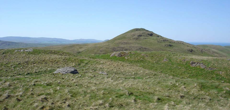 Grey Hill by Girvan summit image