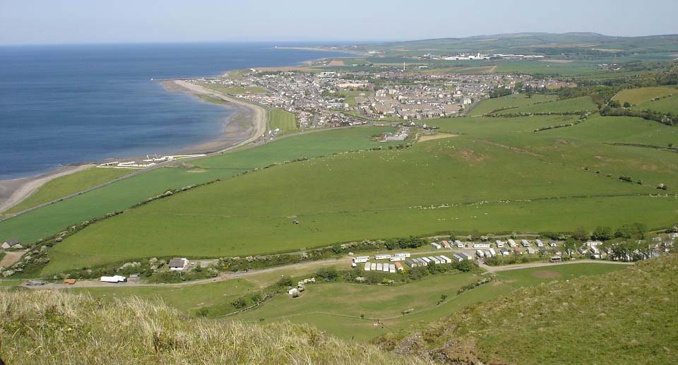 Girvan from Byne Hill image