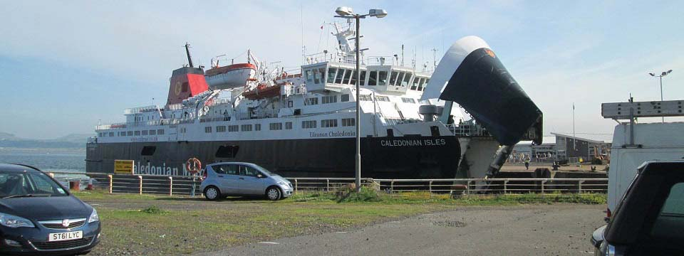 Arran Ferry at Ardrossan image