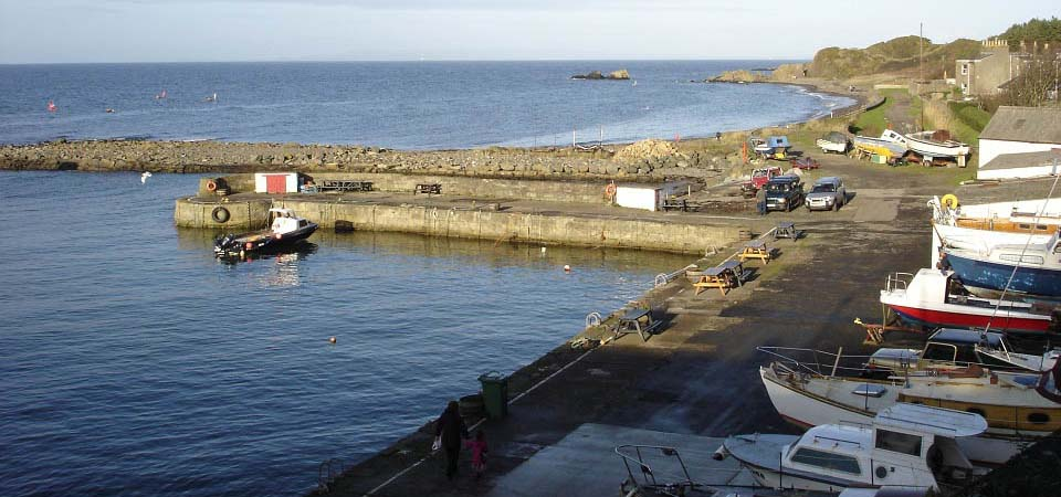 Dunure Harbour image