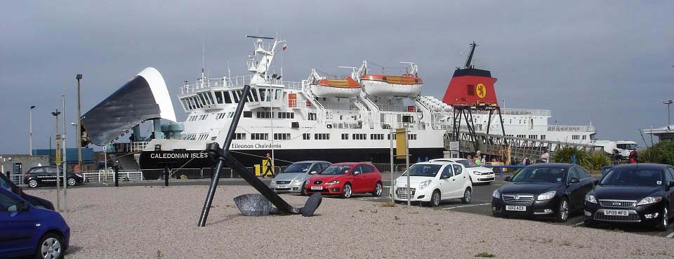 Ardrossan to Brodick Ferry image