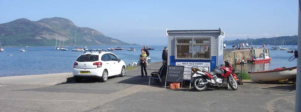 Holy Isle booking office image