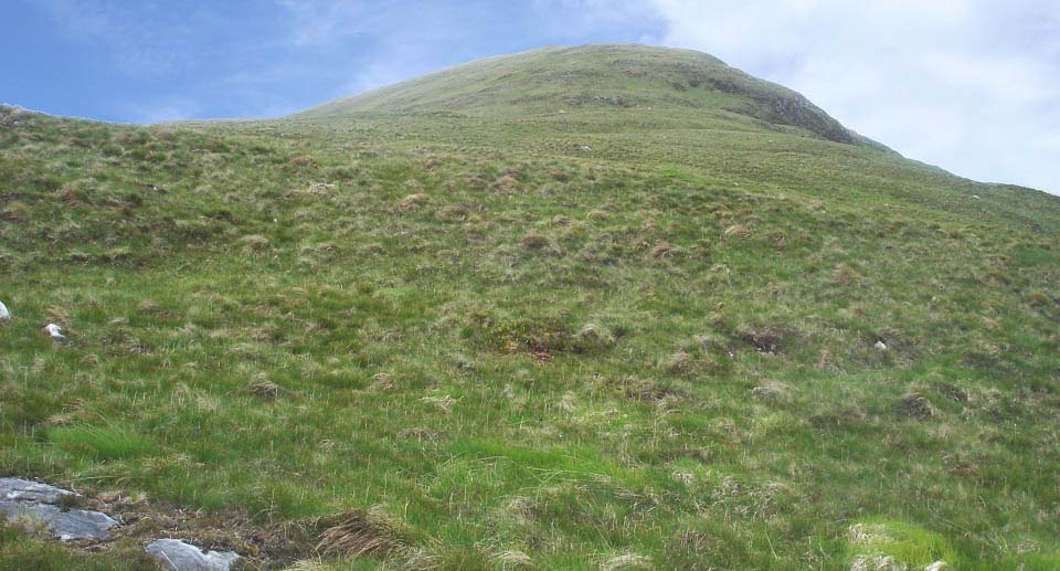 Kirriereoch West Ridge Route image