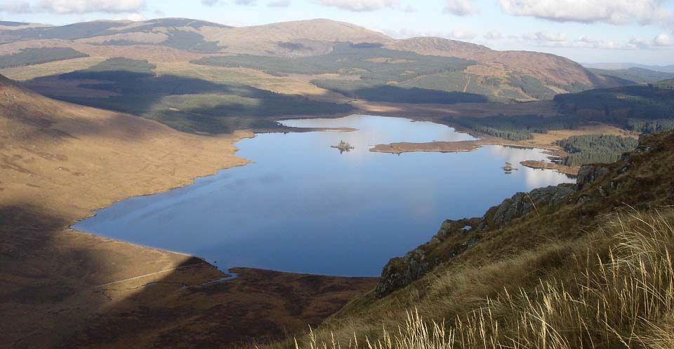 Loch Dee from White Hill image