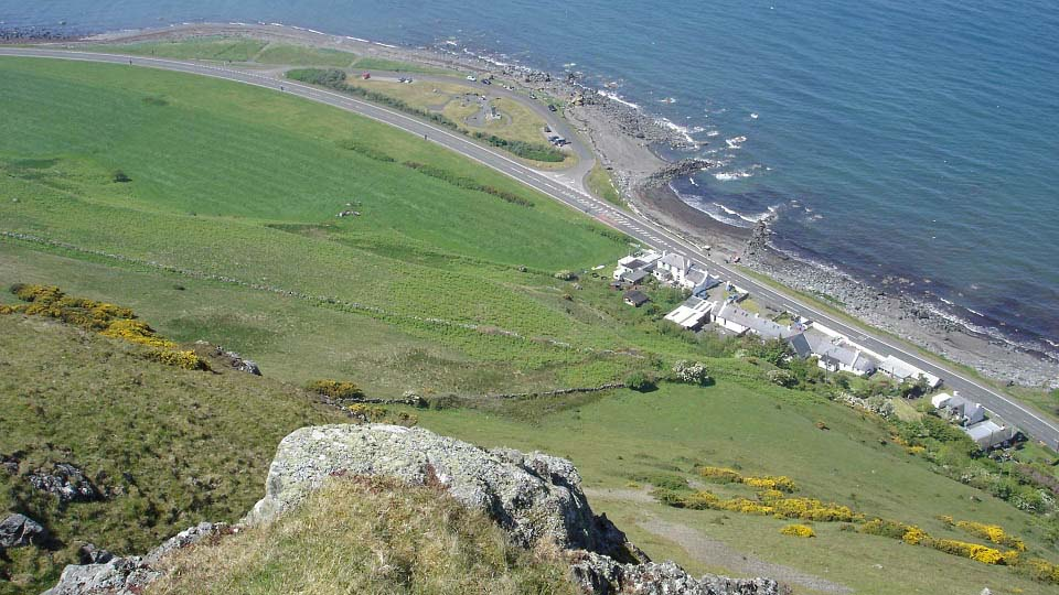 Lendalfoot from Balsalloch Hill image