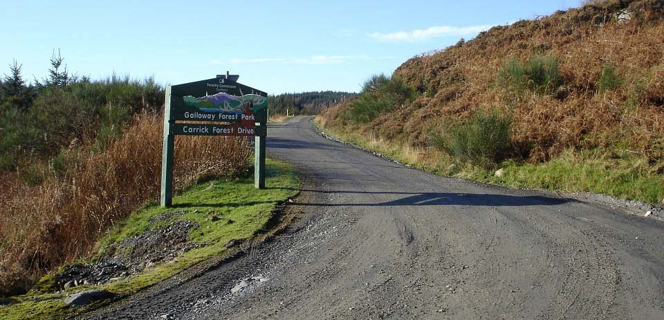 Galloway Forest Park Road image